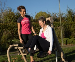Proludic Urbanix hydraulic outdoor gym equipment