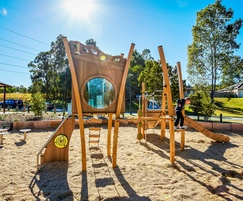 Kanope multi play unit for natural themed play