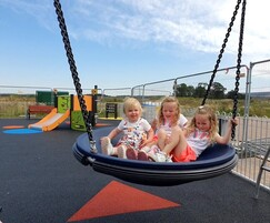 New inclusive play area for sports centre, Elgin