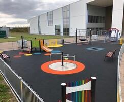 Inclusive play area - Moray Sports Centre
