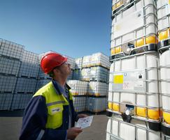 Monitoring & control system for chemical distributor