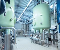Everswinkel waterworks - oxidation process