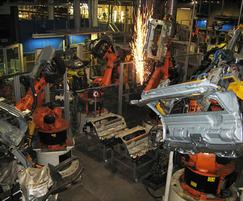 Welding cooling systems, Magna Chassis, France