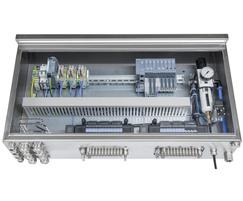 Type 8614 pneumatic control cabinet