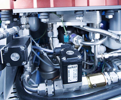 Valves and control systems for fuel cell production