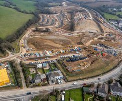Construction of the Truro Park & Ride scheme