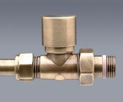 Thermostatic valves - antique brass