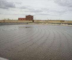 Wastewater treatment reedbeds