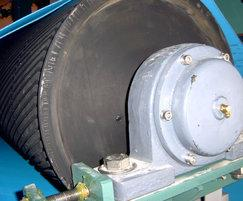 Patented helical roller