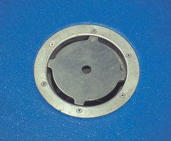 Industrial 200 drain, vertical outlet
