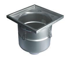 Industrial 760.403.110 drain for concrete floors