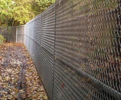 FASTGUARD expanded metal fencing