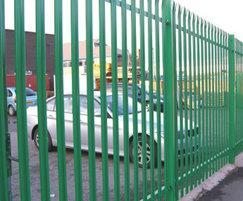 PALISADE - steel palisade fencing