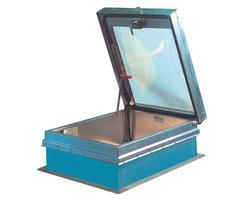 GS-50TB ladder access roof hatch with skylight