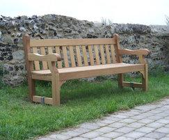 Westminster 1.8m wooden seat