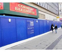 Crossrail site hoardings, Oxford Street
