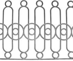 Cast iron balustrades, part of a large pattern book
