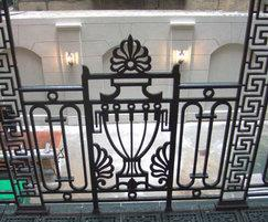 Cast iron balustrades, New York