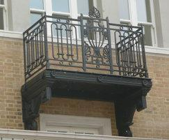Cast iron balustrades