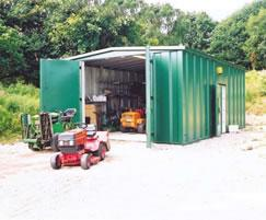 Groundsman's store- highly secure, vandal resistant