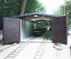Engine shed - highly secure, vandal resistant