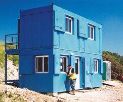 Apex modular office on quarry site