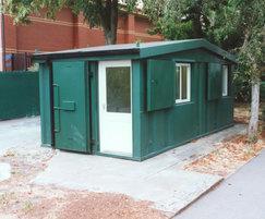Apex modular site security office