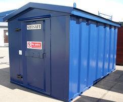 Vandal Resistant  playground store, cobalt blue (RAL 50