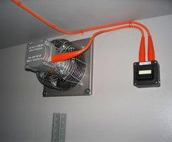 Zone 1 electrics in Flamsafe