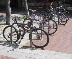 On-street bike parking