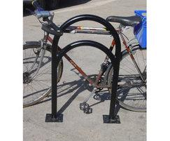 Rounded bar crescent rack
