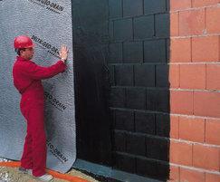 External waterproofing - Geo Drain Quattro