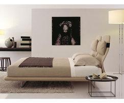 B&B Italia Lazy Night bed