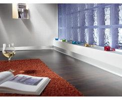 CONSTRUCT metal skirting - laminate/tiled/parquet floor