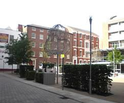 The Lace Market Square, Nottingham City Centre