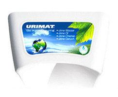 Urimat ecoinfo urinal with light up display
