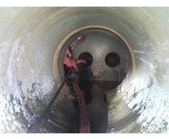 Aeration pipe cleaning, Scotland