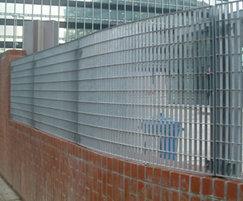 Screening/fencing, Manchester Transport Interchange