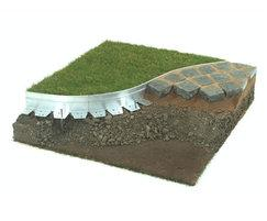 AluExcel aluminium hard surface landscape edging