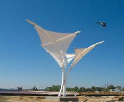 Naval Architecture on Skylar Tensile Fabric Canopy   Fabric Architecture   On Esi Info