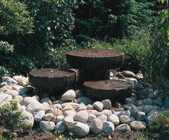 GSA2075-5/3MF triple millstone fountain