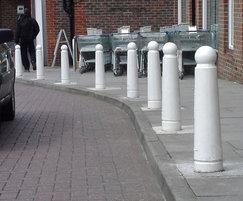 Gunner cast iron bollards