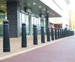 GUN 503 Gunner cast iron security bollards