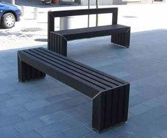 Avenue bench and seat