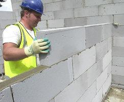 Hi Strength grade blocks for walls and foundations