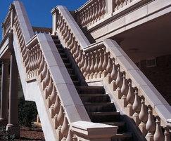 Custom-made balustrade