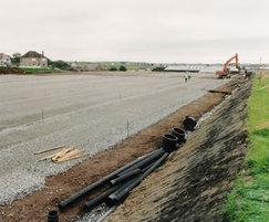 Multisports pitch construction
