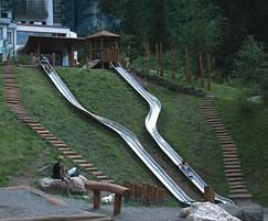 Double width 1.95m embankment slide
