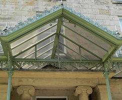 Architectural metalwork - restoration