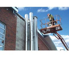 Flue servicing and inspection